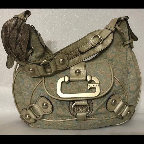 Guess Handbags - Authentic GUESS Moon Dance Full Size Shoulder Bag
